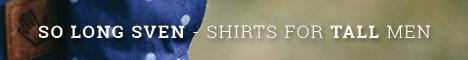 Extra långa skjortor, t-shirts, tanks och sweatshirts för långa, smala män!
